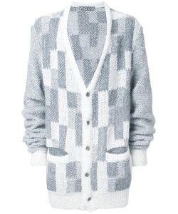 Anrealage | Oversized Noise Cardigan Mens Acrylic/Nylon/Polyester/Alpaca