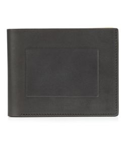 Isaac Reina | Frame Detail Wallet Adult Unisex Calf Leather