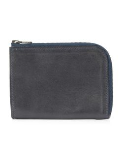 Isaac Reina | Zipped Wallet Adult Unisex Calf Leather