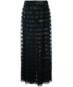 Huishan Zhang | Sequined Palazzo Pants Womens Size 12 Polyester
