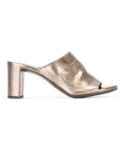 Roberto Del Carlo   Pirite Mules Womens Size 41 Calf Leather/Leather