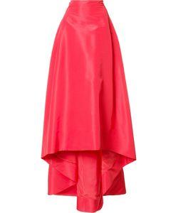 Carolina Herrera   Faille Skirt Womens Size 0 Silk