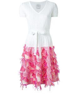 Ingie Paris   Fringed Knit Dress