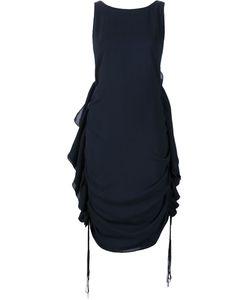 Audra   Side Ruffle Dress