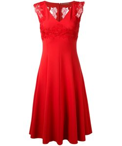 Ermanno Scervino | Embroide Lace Dress Womens Size 42 Polyester/Spandex/Elastane