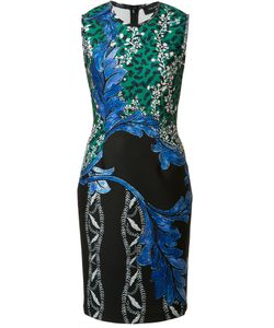 Yigal Azrouel | Print Fitted Dress Womens Size 4 Polyester/Spandex/Elastane
