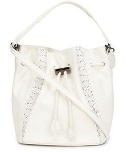 Khirma Eliazov | Python Skin Detail Bucket Bag