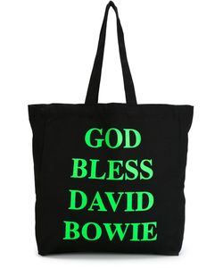House Of Voltaire   Jeremy Deller God Bless David Bowie Tote
