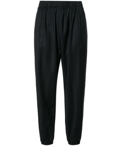 Engineered Garments | Elasticated Waist Cropped Trousers Womens Size 2 Wool