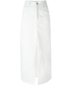 Damir Doma | Side-Slit Skirt Womens Size Xs Cotton