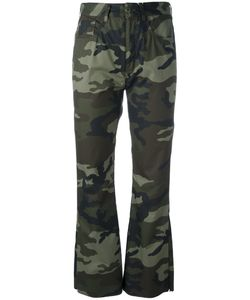 Mm6 Maison Margiela | Camouflage Print Trousers Womens Size 40 Cotton