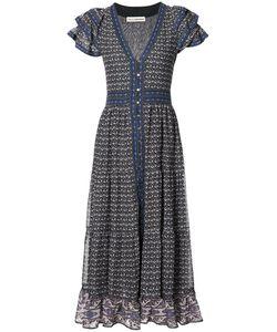 Ulla Johnson | Button-Front Midi Dress Womens Size 8 Silk