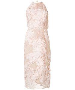 Marchesa Notte | Halterneck Dress Womens Size 10 Nylon