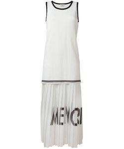 Each X Other | Pleated Sleeveless Dress Size Medium Cotton/Silk