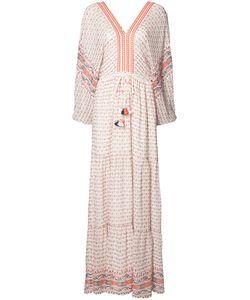 Ulla Johnson | Tassel Detail Maxi Dress Womens Size 4 Polyester/Silk