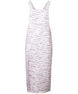 Julien David | Tweed Detail Dress Womens Size Xs Cotton/Acrylic/Cupro/Nylon