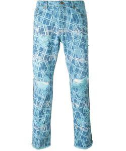 James Long | Printed Slim Jeans