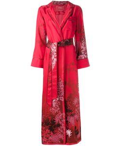 For Restless Sleepers | F.R.S Print Kimono Coat Womens Silk