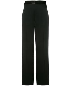 Victoria Beckham | Wide Leg Trousers Womens Size 10 Cotton/Acetate/Viscose