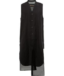 Uma Wang | Long Waistcoat Mens Size Medium Silk/Cotton