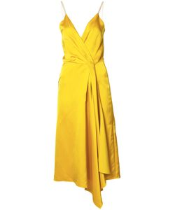 Victoria Beckham | Silk Wrap Dress Womens Size 2 Silk