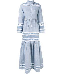 Dodo Bar Or | Drop Skirt Buttoned Dress Womens Size Large