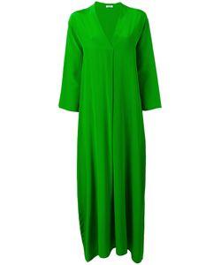 P.A.R.O.S.H. | V Neck Long Dress Womens Size Large Silk