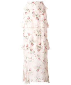Vilshenko | Print Skirt Womens Size 8 Silk