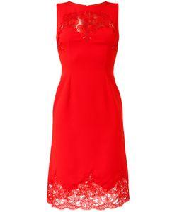 Ermanno Scervino | Lace Detail Sleeveless Dress Womens Size 38 Polyester/Spandex/Elastane