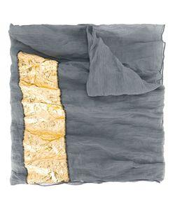 Simona Tagliaferri | Gold Foil Print Scarf
