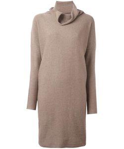 Daniela Gregis | Cowl Neck Dress Womens Wool