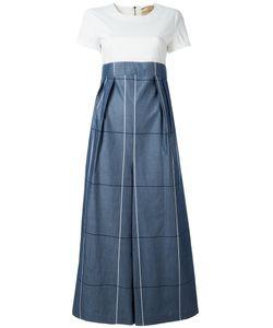 Erika Cavallini | Izumi Jumpsuit Womens Size 40 Cotton/Spandex/Elastane