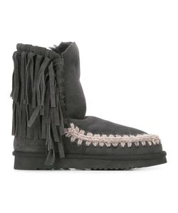 Mou | Eskimo 24 Boots Womens Size 36 Sheep Skin/Shearling/Rubber