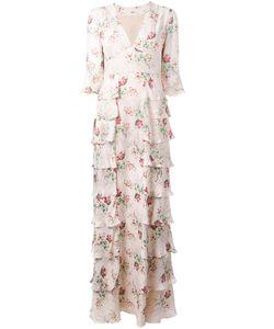 Vilshenko | Ivy Print Dress Womens Size 8 Silk