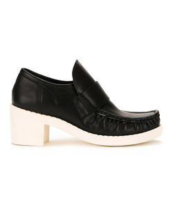 Mihara Yasuhiro   Miharayasuhiro Chunky Sole Loafers Womens Size 38 Leather