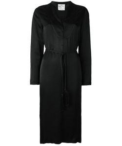 Forte Forte | Belted Shift Dress Womens Size Ii Cupro/Viscose