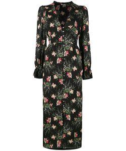 Vilshenko | Print Dress Womens Size 14 Silk