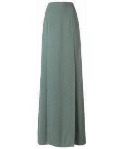 Chalayan | Long Split Skirt Womens Size 40 Viscose/Acrylic