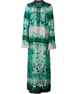 Yigal Azrouel | Daisy Caftan Womens Size 2 Polyester/Viscose