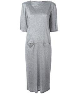 Facetasm | Jersey Midi Dress Womens Size 2 Cupro/Tencel