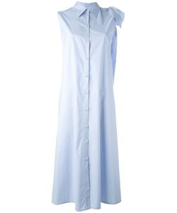 Mm6 Maison Margiela | Sleeveless Midi Shirt Dress Womens Size 44