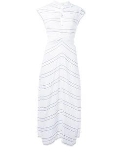 Proenza Schouler | Knot Fastening Dress Womens Size 4 Viscose/Acetate/Silk