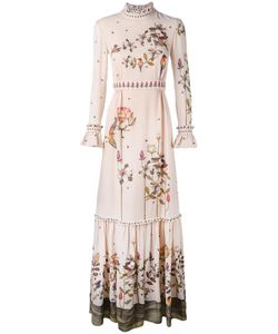 Vilshenko | Print Maxi Dress Womens Size 10 Silk
