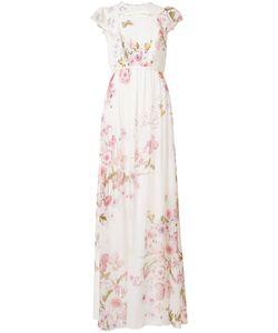 Giambattista Valli | Print Dress Womens Size 42 Silk