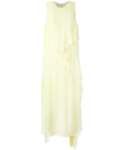 Cédric Charlier | Front Panel Sleeveless Dress Womens Size 38 Rayon