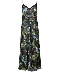 Fleur Du Mal | Full Sweep Dress Womens Size Large Silk