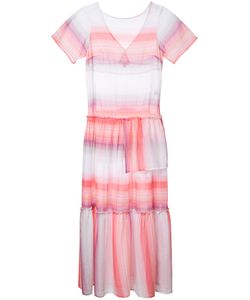 Lemlem   Striped Fla Dress Size Xs Cotton