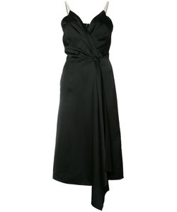 Victoria Beckham | V-Neck Wrap Dress Womens Size 10 Silk/Viscose