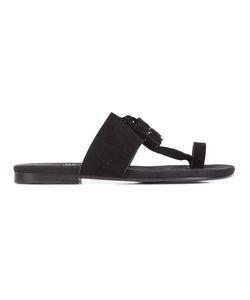 Newbark | Roma V Tassel Sandals Womens Size 9 Suede/Leather