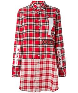 Sold Out Frvr | Plaid Shirt Dress Womens Size Medium Cotton/Polyester/Other